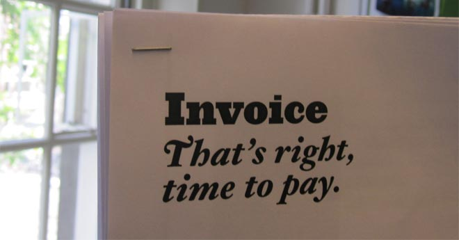 Put a positive spin on your invoices